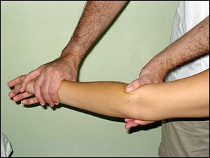 dolor en la muñeca al doblarse y presión aplicada
