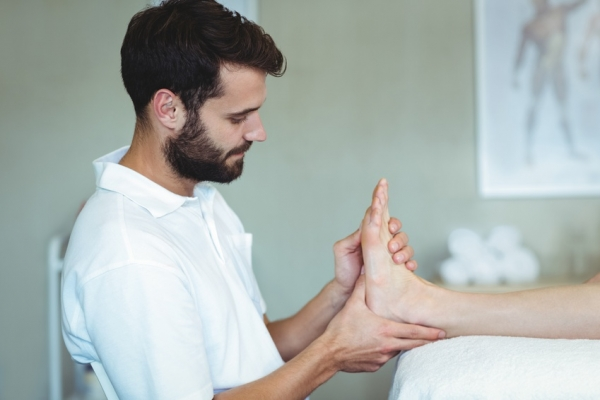 revisión masaje trabajo de mano
