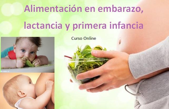 Alimentación en embarazo, lactancia y primera infancia