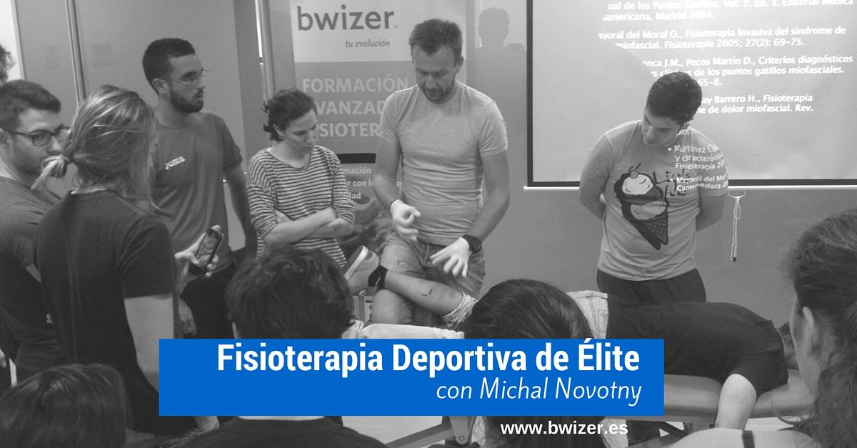FISIOTERAPIA DEPORTIVA DE ÉLITE CON MICHAL NOVOTNY