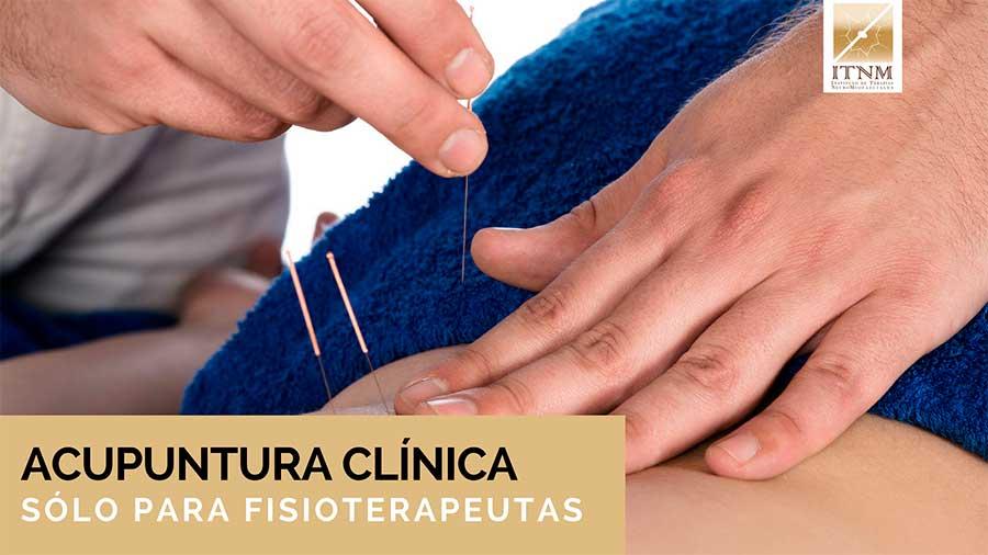 Acupuntura Científica y Clínica para fisioterapeutas