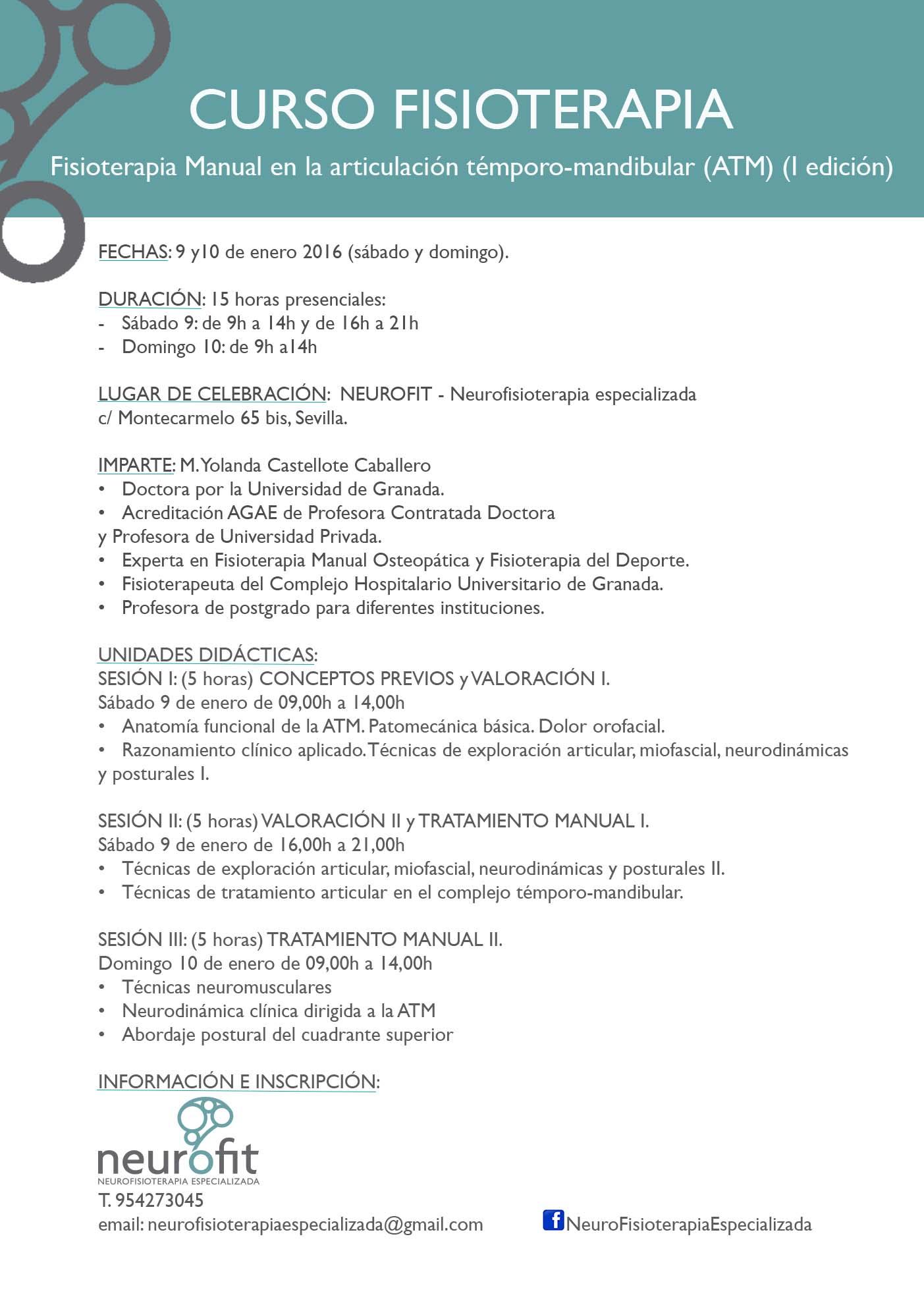 Fisioterapia Manual en la Articulación Temporo-mandibular (ATM) (I edición)