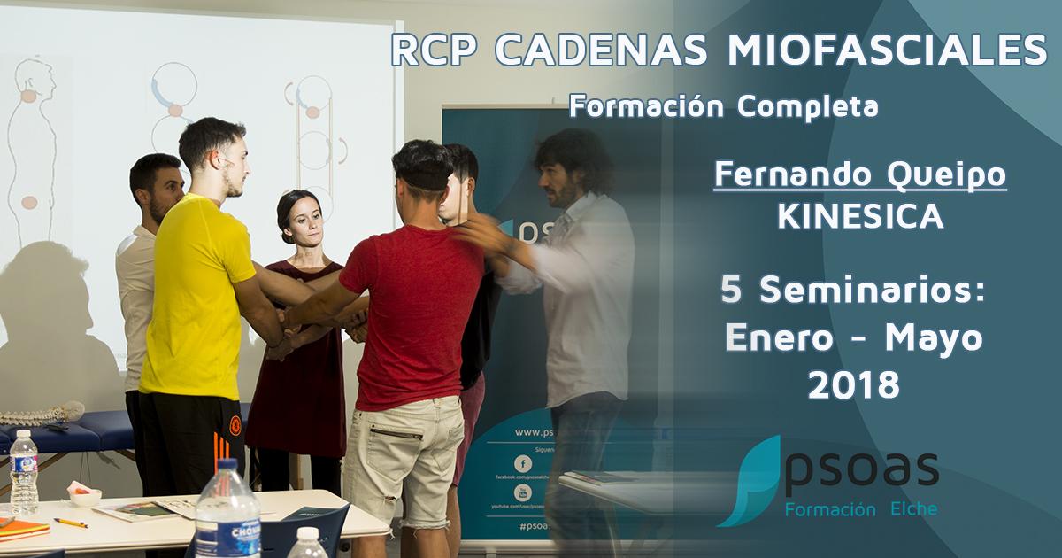 Curso RCP Cadenas Miofasciales Formación completa