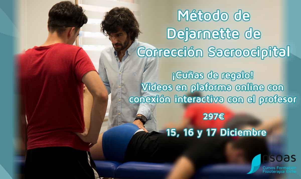 Curso Método de Dejarnette de corrección Sacroocipital. Alicante
