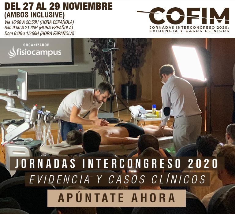 Jornadas Intercongreso CoFIM Online 2020