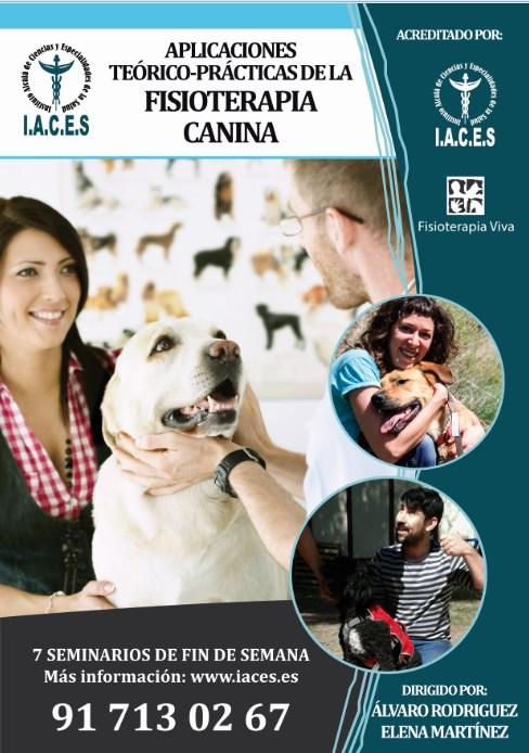 Aplicaciones teórico - prácticas de la Fisioterapia Canina