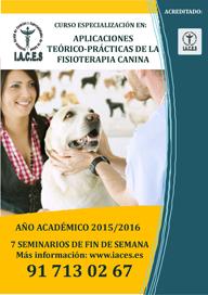 Curso de Experto en Aplicaciones Teorico- Practicas de la Fisioterapia Canina