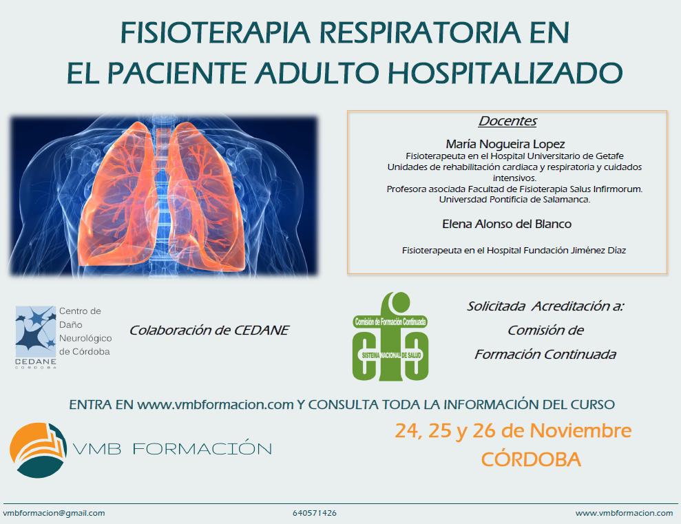 FISIOTERAPIA RESPIRATORIA EN EL PACIENTE ADULTO HOSPITALIZADO