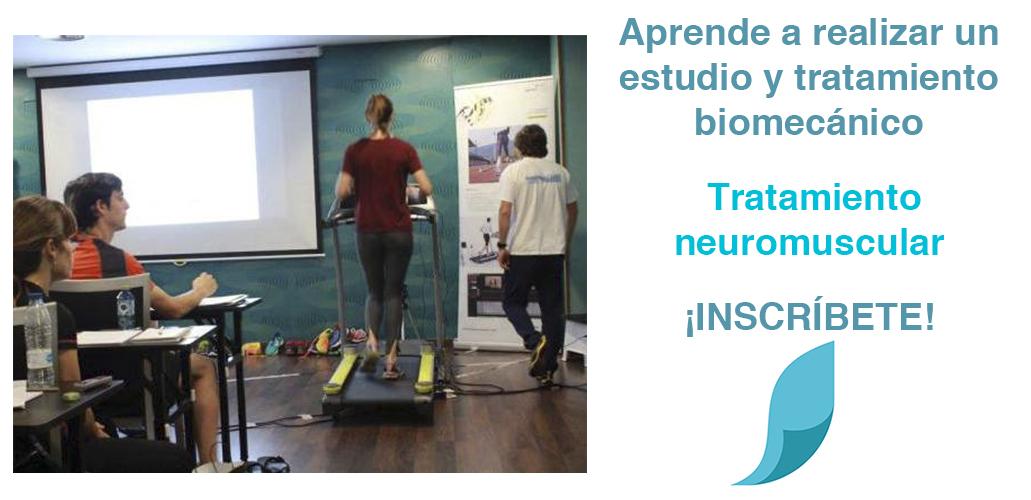 Curso de Análisis y tratamiento Biomecánico de lesiones en la carrera y marcha a pie.