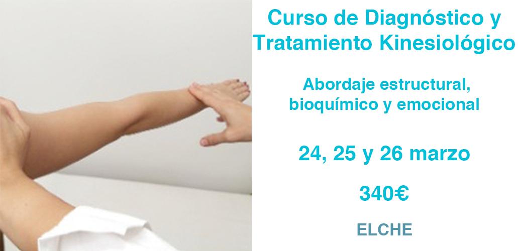 Curso de Diagnóstico y Tratamiento Kinesiológico. Elche
