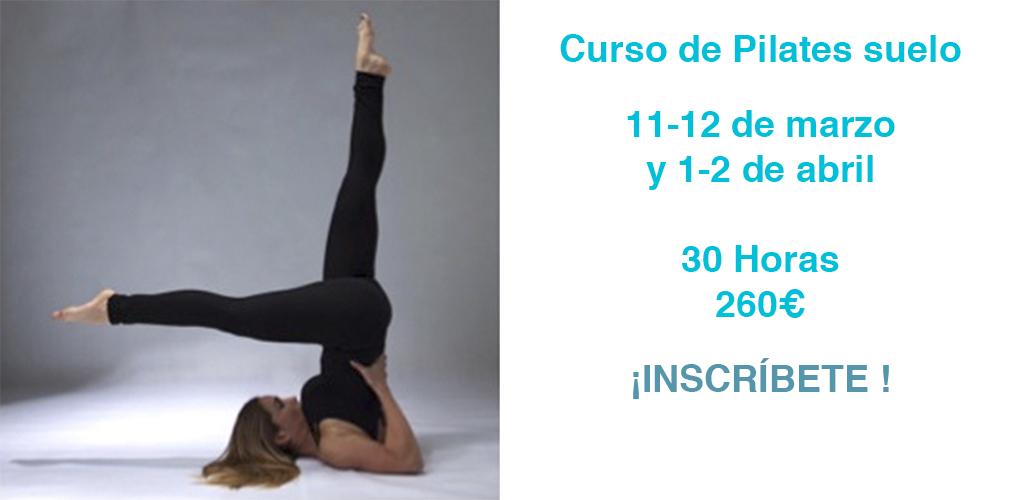 Curso de Pilates Suelo. Elche