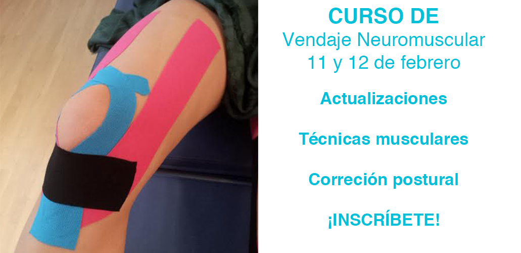 Curso de Vendaje Neuromuscular. Elche