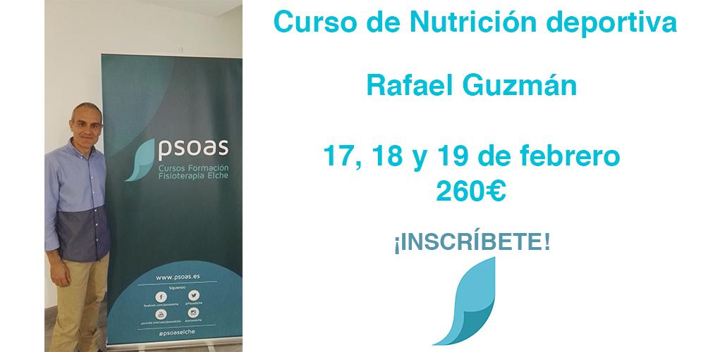 Nutrición aplicada a la fisiología del deporte. ELCHE