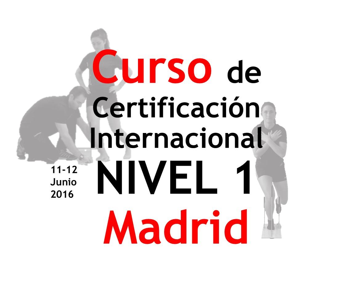 Certificación Internacional Check yourMOtion NIVEL 1