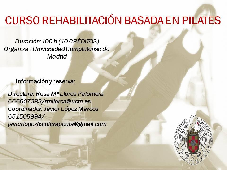 Rehabilitación Basada en Pilates
