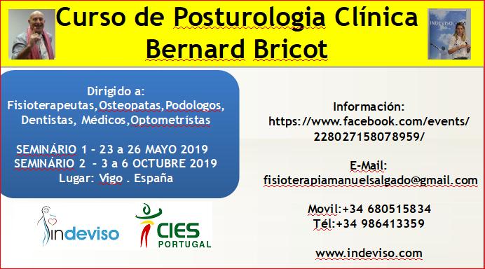 Curso de Posturologia Clinica Dr Bernard Bricot en VIGO.