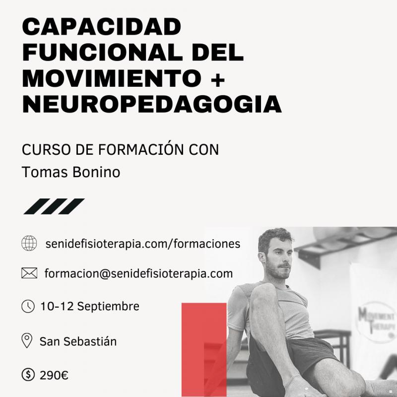 Curso Capacidad Funcional del Movimiento + Neuropedagogia aplicada al movimiento