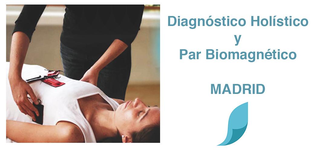 Diagnóstico holístico y par biomagnético. Curso en Madrid