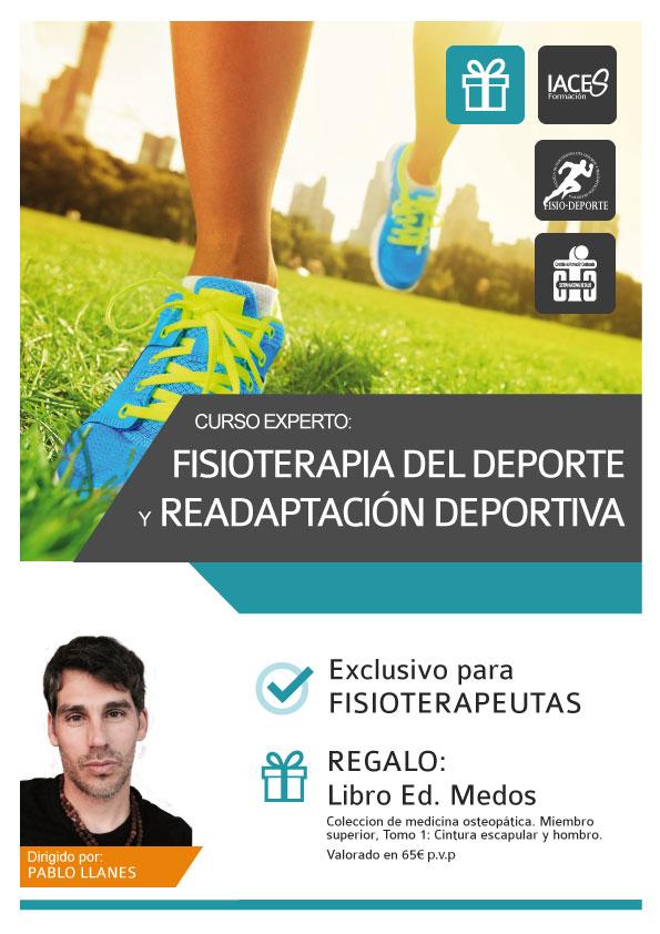 Curso de Especialización en Fisioterapia deportiva