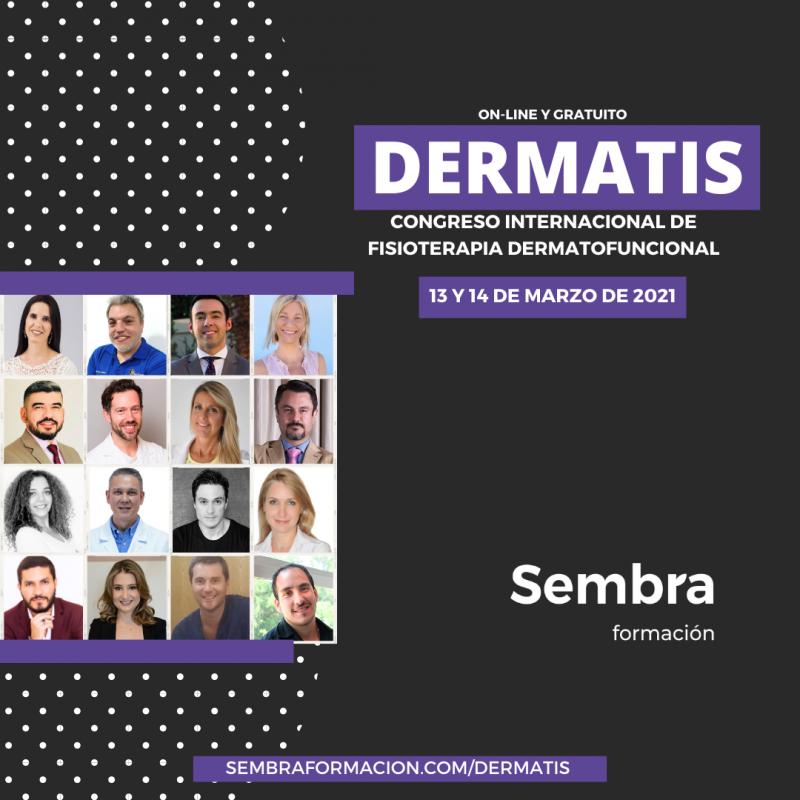 DERMATIS: Congreso Online Internacional de Fisioterapia Dermatofuncional