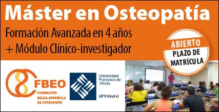 MASTER DE OSTEOPATÍA FBEO-UFV