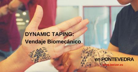 DYNAMIC TAPING: VENDAJE BIOMECÁNICO