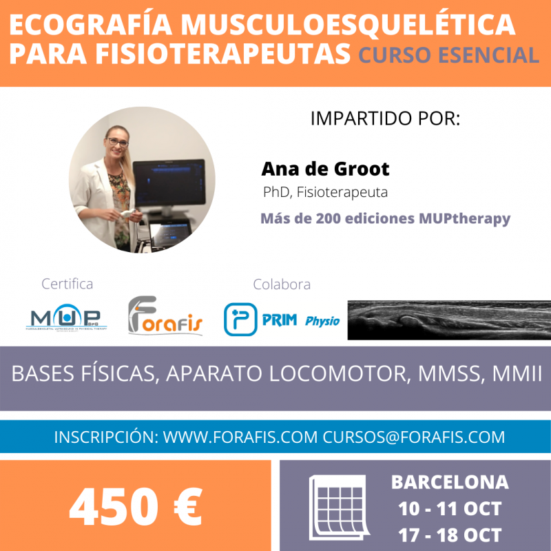 Ecografia Musculoesquelética para fisioterapeutas