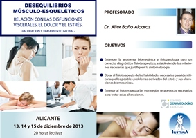 DESEQUILIBRIOS MÚSCULO- ESQUELÉTICOS. RELACIÓN CON LAS DISFUNCIONES VISCERALES, EL DOLOR Y EL ESTRÉS