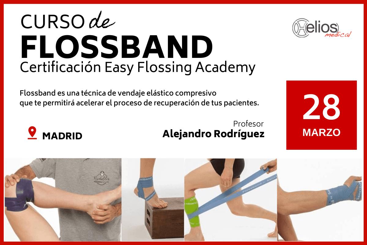 Curso de Flossband. Certificación Easy Flossing Academy