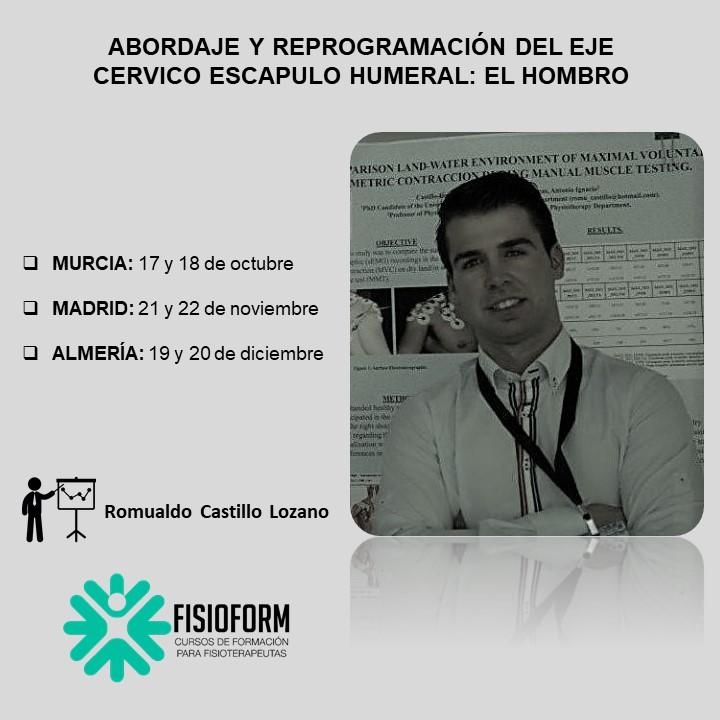 Abordaje y reprogramación del eje cérvico escapulo humeral: El hombro (Madrid)