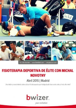 FISIOTERAPIA DEPORTIVA DE ÉLITE con Michal Novotny | abril 2015 MADRID