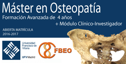Máster en Osteopatía - Plazo de Matrícula 2016-2017 abierto