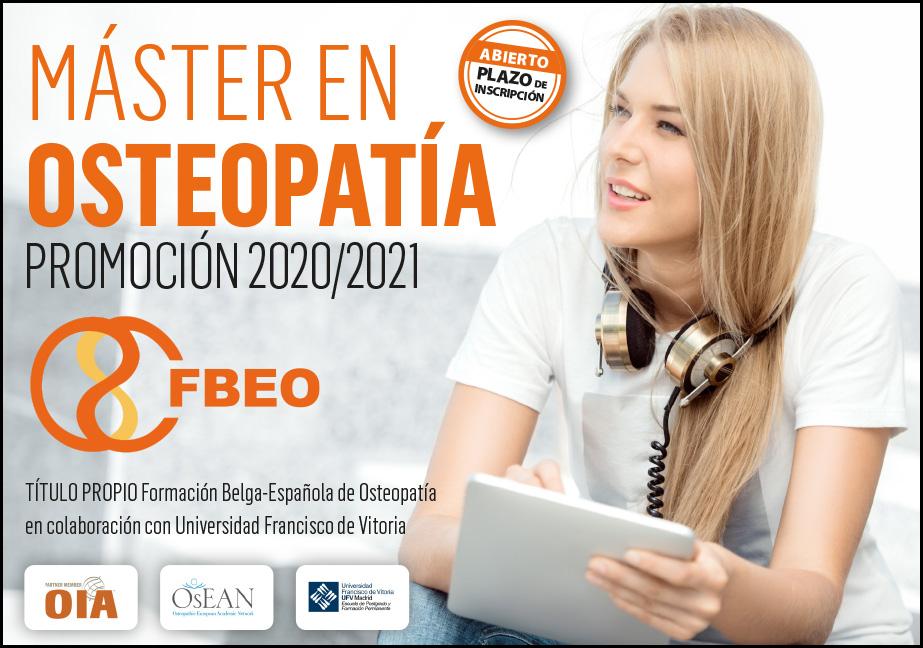 """Máster de Osteopatía FBEO-UFV  """"FBEO, Ciencia Y Esencia en Osteopatía"""""""