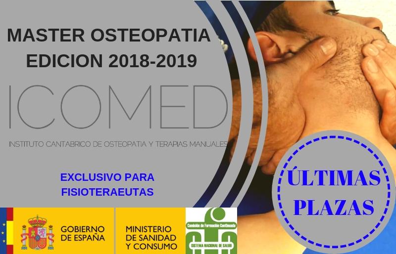 Máster en osteopatía integral Icomed