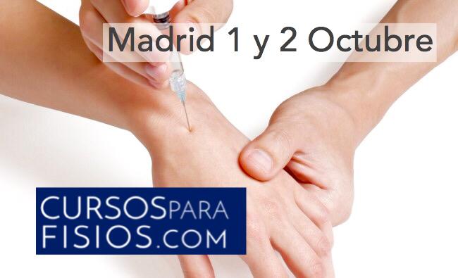 Curso de Mesoterapia para Fisioterapeutas Madrid (ed.Octubre)