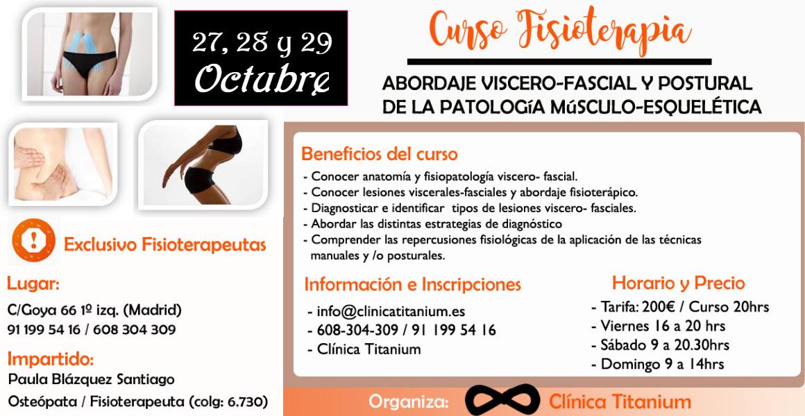 Abordaje visceral/fascial & Postural de la patología músculo ...