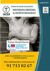 Fisioterapia orientada al Paciente Oncologico