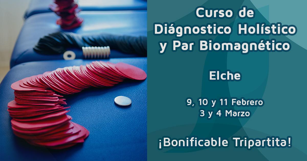 Curso de Diagnóstico Holístico y Par Biomagnético Alicante