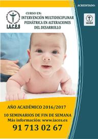 Curso de Experto en Intervención Multidisciplinar Pediátrica en Alteraciones del Desarrollo