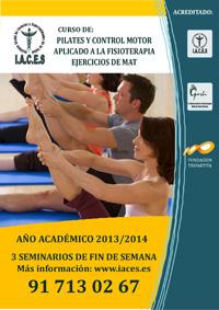 Curso de Pilates y Control Motor aplicado a la Fisioterapia. Ejercicios de Mat