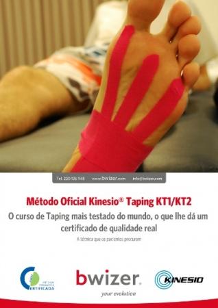 Método Oficial Kinesio Taping KT1/KT2 - julio Porto