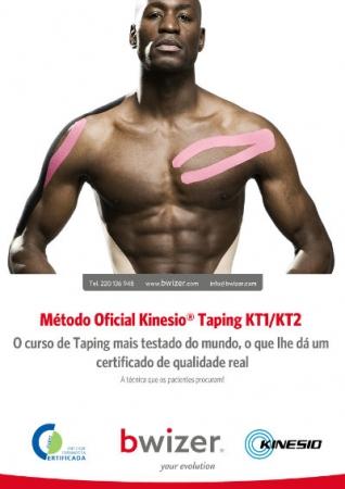 Método Oficial Kinesio® Taping  KT1/KT2 | Lisboa