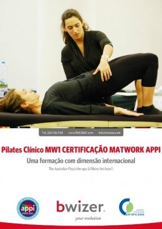 Pilates Clínico MW1 Certificado Matwork APPI | Porto