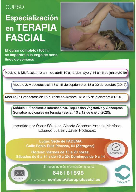Curso de Especialización en Terapia Fascial