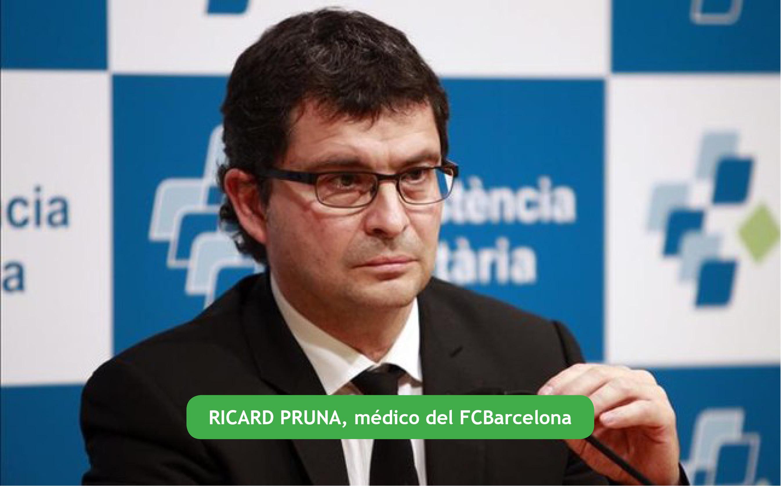 ACTUALIZACIÓN EN PATOLOGÍA MUSCULAR EN EL DEPORTE CON EL DR. RICARD PRUNA