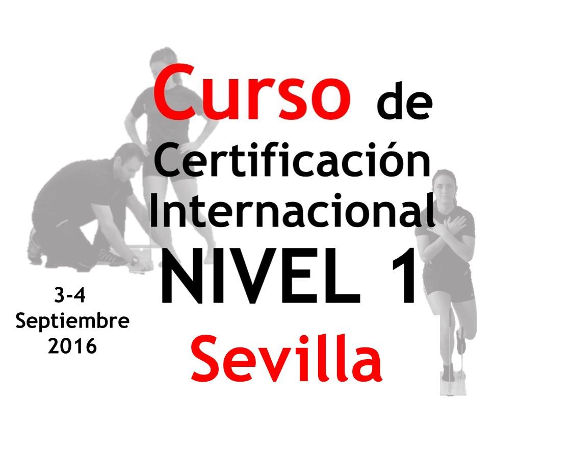 Certificación Internacional Check yourMOtion NIVEL 1 Sevilla