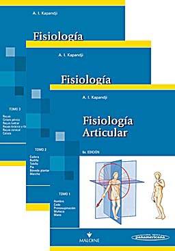 LOTE FISIOLOGIA ARTICULAR, 3 TOMOS (KAPANDJI) Isbn