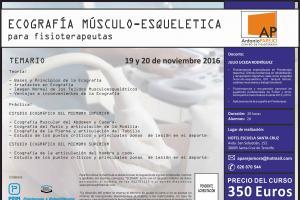 ECOGRAFÍA MÚSCULO-ESQUELETICA para fisioterapeutas