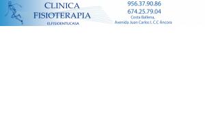 Clínica Fisioterapia  CostaBallena Rota ElFisioentuCasa
