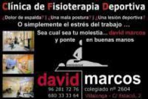 Clinica de Fisioterapia  David Marcos. (Especialistas del Deporte)
